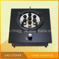 Mlf1 cozinha aparelho simples fogão portátil a gás/fogão a gás de vidro temperado