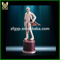 Chino de metal trofeo, famosas esculturas de metal
