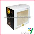 Ecofriendly Caja de cartón con PVC