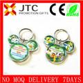Jtc mickey mouse de la cabeza de dibujos animados de fotos en forma de llavero de plástico titular de la foto, mickey mouse