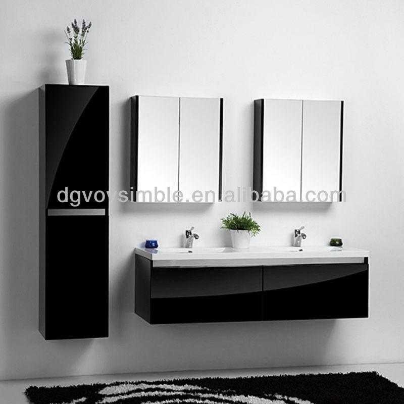 Baños Nuevos Modernos:Negro moderno cuarto de baño vanidades modelo/nuevos diseños cuarto