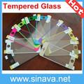 colorido vidrio templado protector de pantalla para iphone5 para 5s