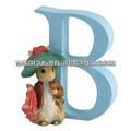Resina letra del alfabeto animales lindas figuritas juguetes educativos