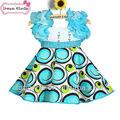 Flor de fantasía de disfraces vestido de 2-6 de y la ropa de niño niña vestido de flores 2014