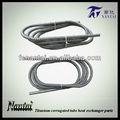 de alta calidad de los elementos de calefacción de refrigeración en espiral del tubo de intercambiador de calor
