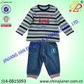 Jianer nueva llegada 100% baratos de algodón de invierno trajes de los niños