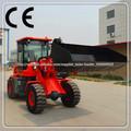 telescópica tl1500 mini mini cargadora de ruedas 1.2 tonelada