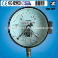 melhor venda personalizada type150mm contato elétrico medidores de pressão