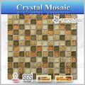 morden flor patrón de mosaico baratos cuarto de baño