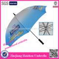 Dupla costelas golfe guarda-chuva suporte comercial