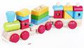 de madera de tren juguetes set