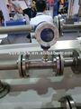 pantalla lcd de la turbina líquido medidor de flujo de instrumento medidor
