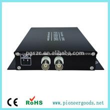 1/4/8/16 canales de fibra óptica digital cctv video converter
