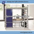 la escuela mueblesdeldormitorio litera de acero cama barata