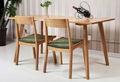 Japonês- estilo, madeira maciça mesa de jantar não- retrátil moderno e minimalista branco de carvalho de jantar móveis l03 jp
