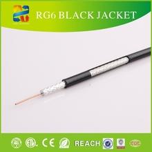 75 rg6 ohmios de circuito cerrado de televisión cable coaxial rg6 caracteristicas