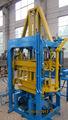 Brick machine de fabrication de brique de ciment qty3-20 colorées finisseur bloc creux des blocs