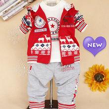tc5068 infantil al por mayor ropa china de moda lindo impreso ropa de estilo coreano bebé