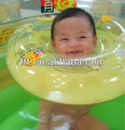 Vente chaude cou gonflable anneau de natation pour les enfants, pvc gonflable de promotion collier bague infantile