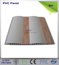 Diseño de techo de plástico PVC Casa en techo 45PVC