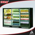 303l puerta corredera de cristal de nuevo nevera-bar/botella de cerveza nevera/nevera-bar con puerta de cristal