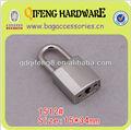 Qifeng moda decoração metal cadeado, anel de trava para bag1512#