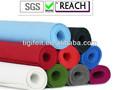 Teints./laine feutre coloré avec une épaisseur différente
