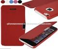 Elegante e colorida ultra fino couro da carteira para cobrir casoiphone 6,5iphone eiphone 4 e para samsung s5 e nota 3