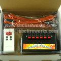6 canales de control remoto de fuegos artificiales sistema de disparo