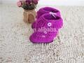 de lana suave lindo bebé recién nacido zapatos de crochet tejer zapatos de bebé