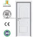 Revestidos de PVC porta de Madeira interior certificado de porta para quarto de Zhejiang fábrica