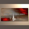 el más nuevo hecho a mano pinturas al óleo de barcos de vela para la decoración