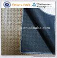El cuero geometría del diseño 100 de poliéster como tejido