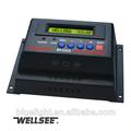 Smart painel solar controlador de carga 12v/24v 20a wellsee ws-c2430 controle de tensão