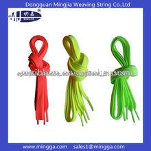 longitud y el color cordones de los zapatos fluorescentes