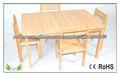 crianças que escrevem mesas e cadeiras para jardim de infância