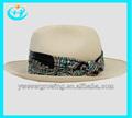 paja de la rafia sombrero tejido de