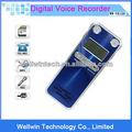 microfone externo 8gb ativada por voz usb digital lcd áudio gravador de voz ditafone mp3