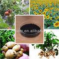 Compuesto de fertilizantes orgánicos
