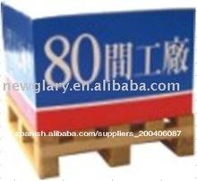 fabricante del cubo de papel con plataforma de madera