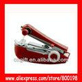 oxgift 2014 de mano portátil máquina de coser de color rojo