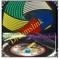 "Nueva Reflective Wheel Rim raya etiqueta / cinta adhesiva de la CAR AUTO / MOTO Vinilo Rojo Azul Verde Blanco Yellow10 ""12"" 15 """