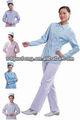 t / c 65/35 45 * 45 133 * 72 tela teñida o blanco para uniformes de las enfermeras