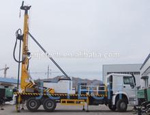Pesado 6*4 montados en camiones del agua del pozo de perforación de pozos rig