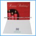 feliz de cumpleaños en 3d tarjeta de felicitación