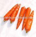 zanahoria artificiales de frutas vegetales juguetesdeplástico