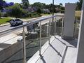 Moderne garde-corps balcon en verre