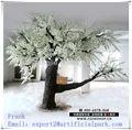 2013 artificial branco da árvore de cereja para decoração de casamento