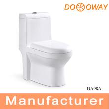 Cuarto de baño de lavado de cerámica tocador de una pieza DA98A