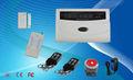 Europa y América del Caliente! 99Wireless GSM y el sistema de alarma de seguridad 7wired, alarma GSM con pantalla LCD y el tecla